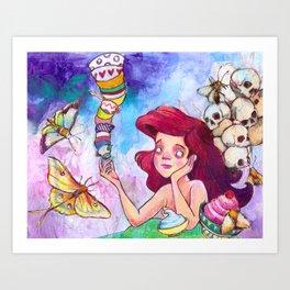 The Anti Princess Art Print
