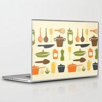 kitchen Laptop & iPad Skins featuring Kitchen by Bellwheel