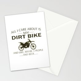 My DIRTBIKE and BEER Stationery Cards