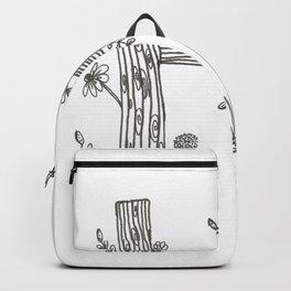Tree Huggers Series - Letter H Backpack