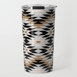 New Mexico in Tan Travel Mug