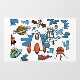 Life From Space Rug