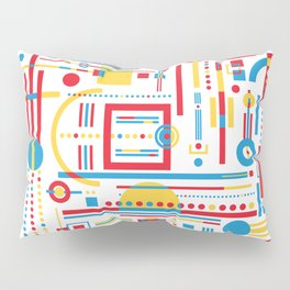 CLASH w/white Pillow Sham