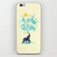 splash iPhone & iPod Skins featuring summer splash by Steven Toang