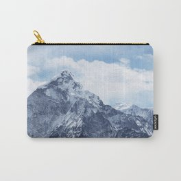 Snowy Mountain Peaks Carry-All Pouch