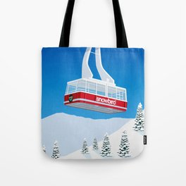 Snowbird Ski Resort Tote Bag