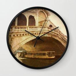 Ponte di Rialto Wall Clock