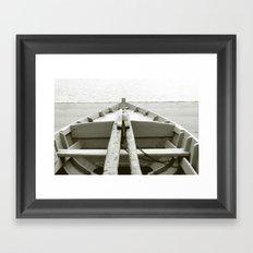 Boat I Framed Art Print