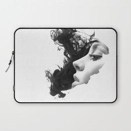 Smoke & woman Laptop Sleeve