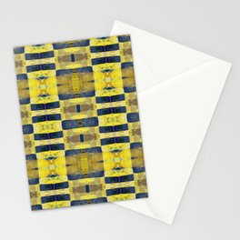 first sunrays_pattern_no2 Stationery Cards
