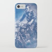 steve mcqueen iPhone & iPod Cases featuring McQueen by Scott Dickson