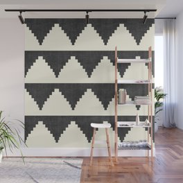 Lash in Black and White Wall Mural