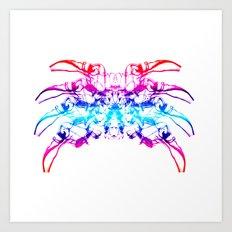 Smoke Spider Crab 2 Art Print