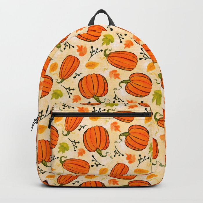 Pumpkins pattern I Backpack