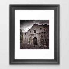 The Alamo Framed Art Print