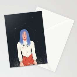 caught Stationery Cards