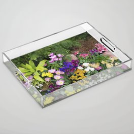 Floral Spectacular - Spring Flower Show Acrylic Tray