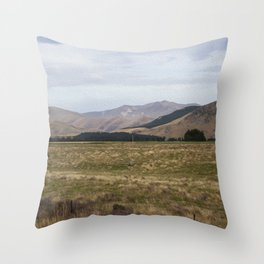 The Ranges Throw Pillow