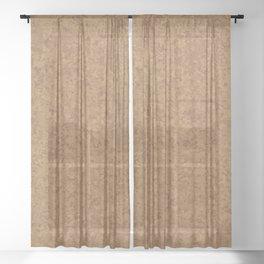 Cork Board Background Sheer Curtain
