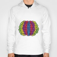 afro Hoodies featuring Circus Afro! Circus Afro!  by Brieana