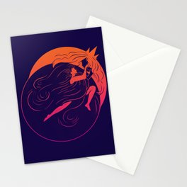 Partial Eclipse Stationery Cards