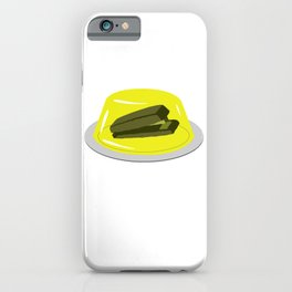 Stapler In Jello, Office Prank For The Brave Design, Original Funny Gift Idea, Dwight Best Quote Fro iPhone Case