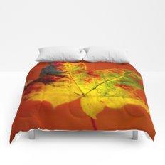 Autumn Maple Leaf Comforters