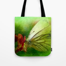 Butterfly's inn version 2 Tote Bag