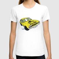 ford T-shirts featuring Ford Capri by Ricardo Reis Illustration