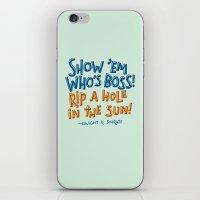 dwight schrute iPhone & iPod Skins featuring Dwight K. Schrute by Josh LaFayette