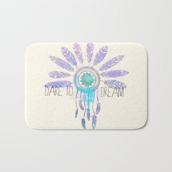 Dare To Dream Bath Mat