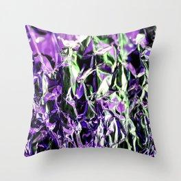 Tin Foil Treat (Aluminium) Throw Pillow
