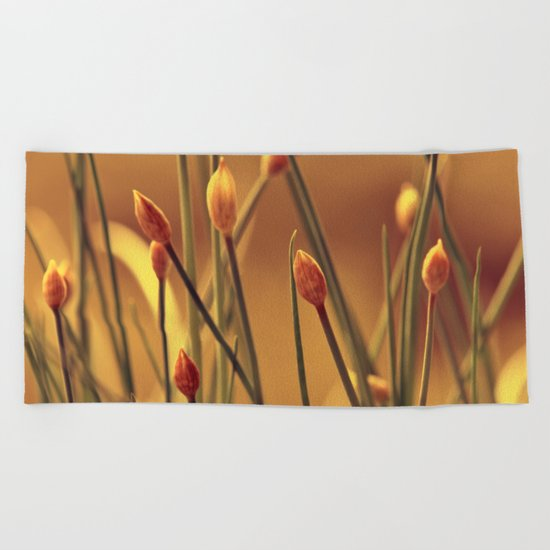 Allium 175 Beach Towel
