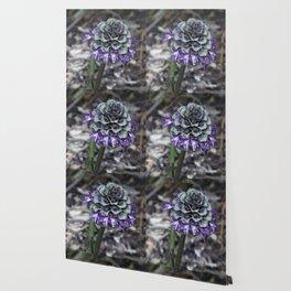 Zebra Flower Wallpaper