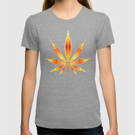 Cannabis Fire Leaf T-shirt