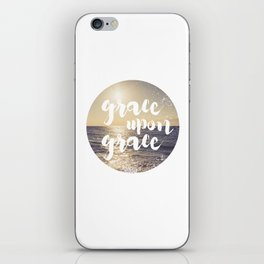 Grace Upon Grace iPhone Skin