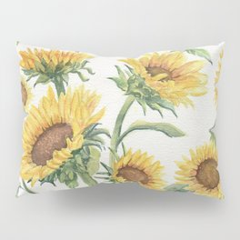 Blooming Sunflowers Pillow Sham