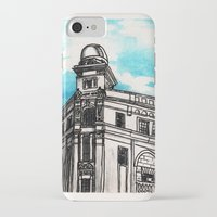 philippines iPhone & iPod Cases featuring Philippines : Regina Building by Ryan Sumo