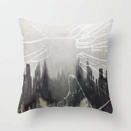 Lowry can you hear, we're still playing 'in the mood' up here Throw Pillow