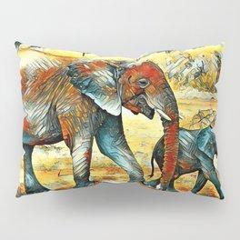 AnimalArt_Elephant_20170902_by_JAMColors Pillow Sham