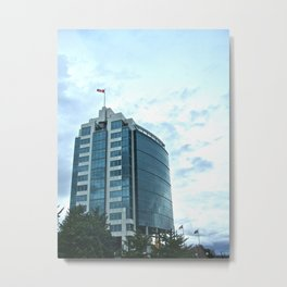 Strong Tower Metal Print