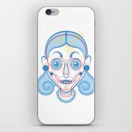 A Rare Girl iPhone Skin