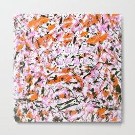 graffiti pink 0 Metal Print