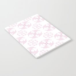 light pink tui  Notebook
