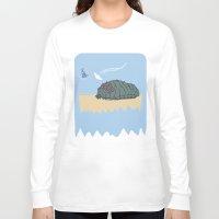 nausicaa Long Sleeve T-shirts featuring ohmu! by nisimalotse