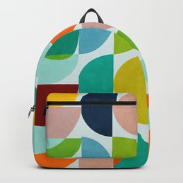shapes abstract III Backpack