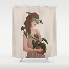 Liana - Bindweed Shower Curtain