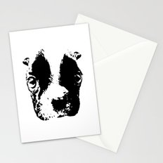 Curious French Bulldog Stationery Cards