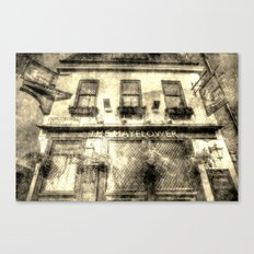 The Mayflower Pub London Vintage Canvas Print