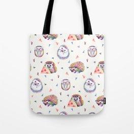 Baby Hedgehogs Tote Bag